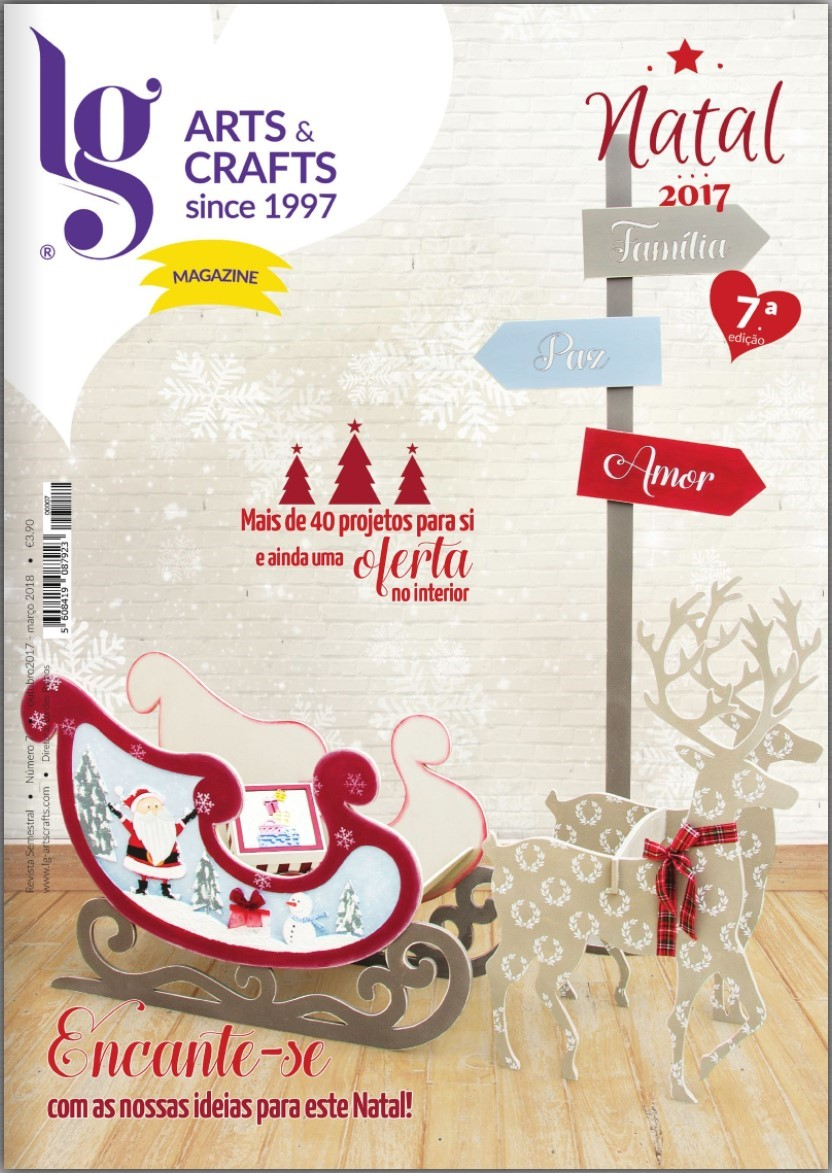 LG Arts & Crafts Magazine Natal 2017