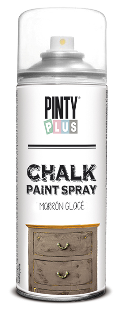 TINTA SPRAY CHALK 400ML MARRON GLACÉ