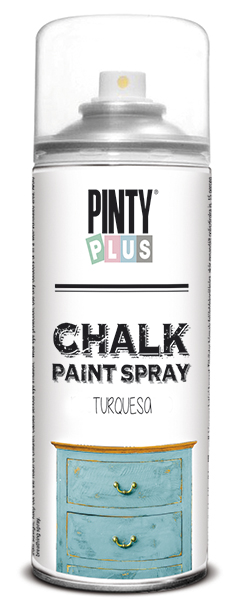 TINTA SPRAY CHALK 400ML TURQUESA