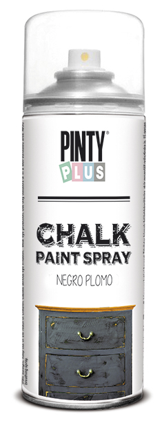 TINTA SPRAY CHALK 400ML NEGRO PLOMO
