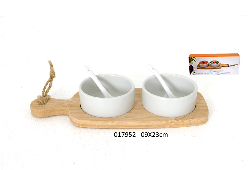 SET 2 VERRINES RED S/TABUA CORTAR 9X23CM DEGUSTATION