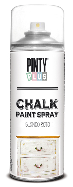 TINTA SPRAY CHALK 400ML BLANCO ROTO