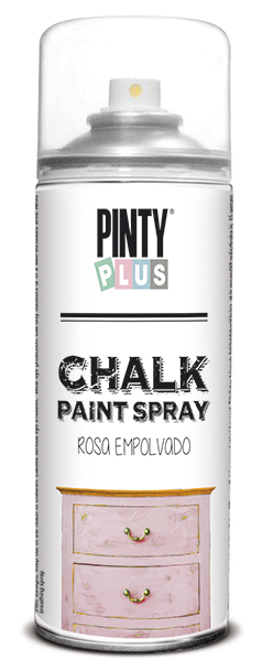 TINTA SPRAY CHALK 400ML ROSA EMPOLVADO