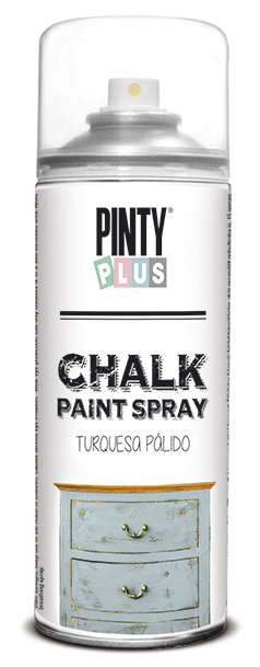 TINTA SPRAY CHALK 400ML TURQUESA PALIDO