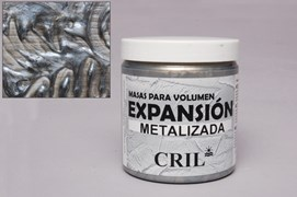 Z PASTA VOLUME EXPANSION METALICA PRATA 250GRS