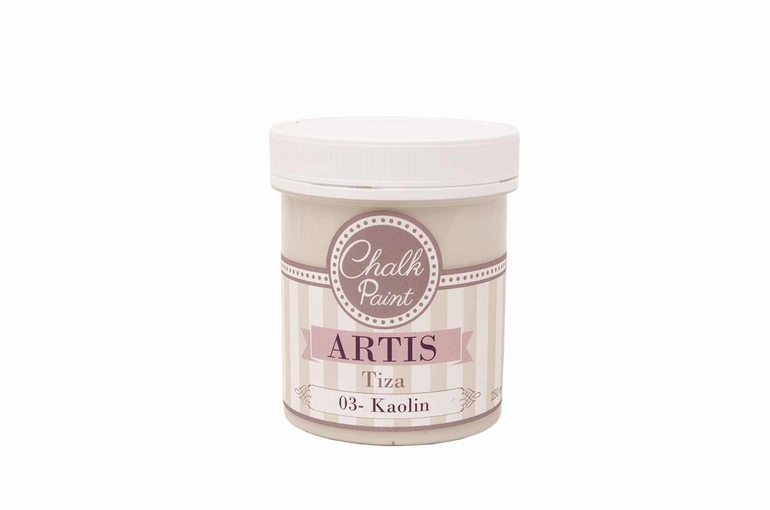 PAINT  250ML KAOLIN TIZA 003