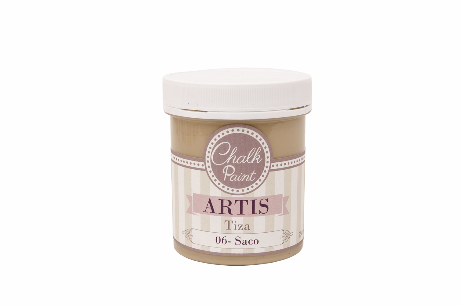 PAINT  250ML BURLAP TIZA 006