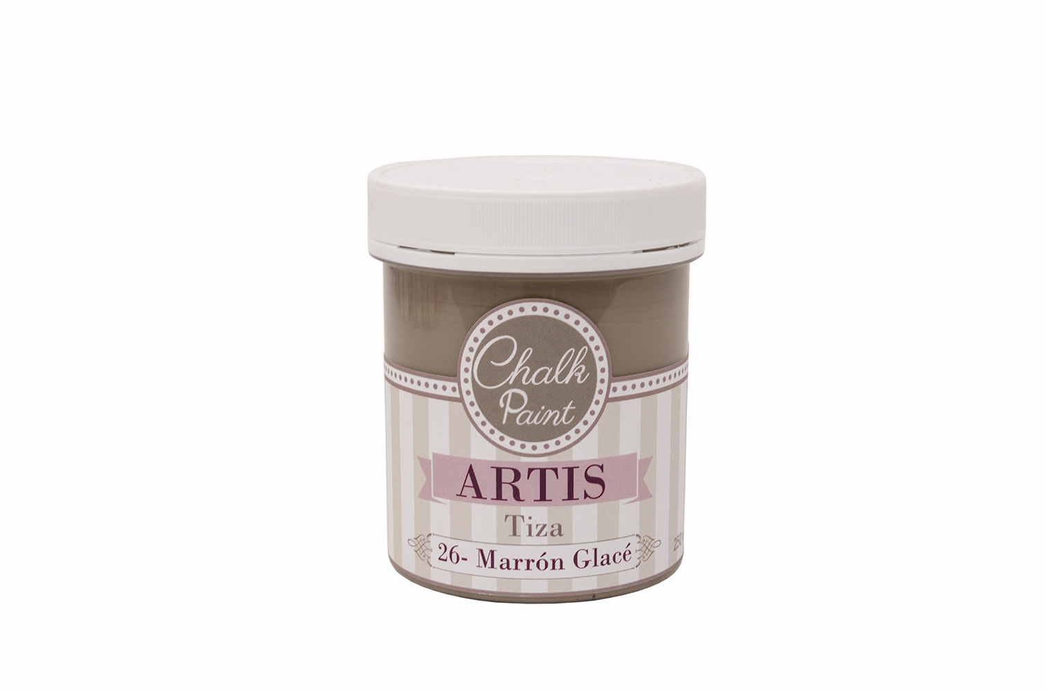 PAINT  250ML BROWN GLACE TIZA 026