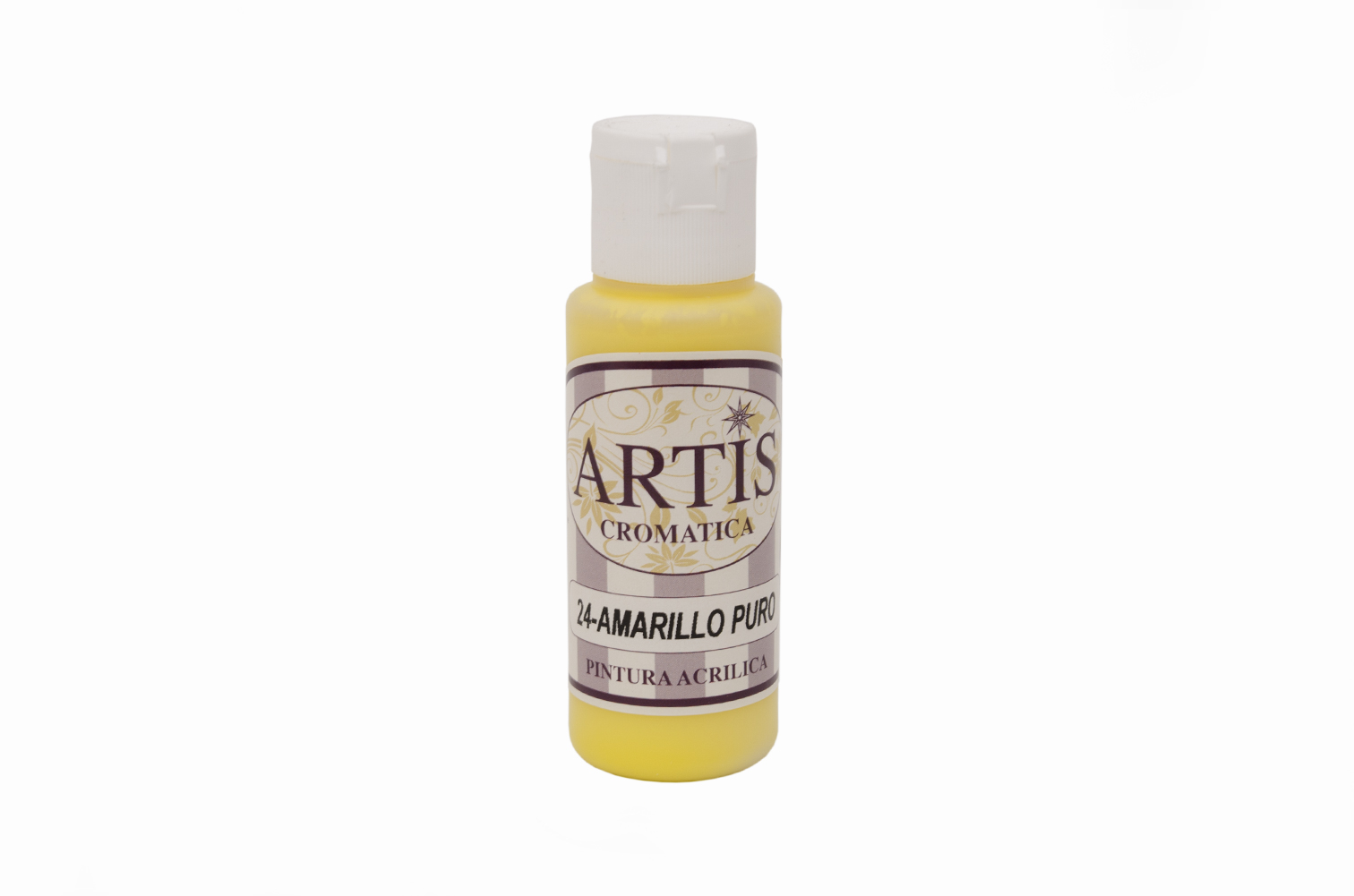 ACRYLIC PAINT 60ML YELLOW ARTIS24