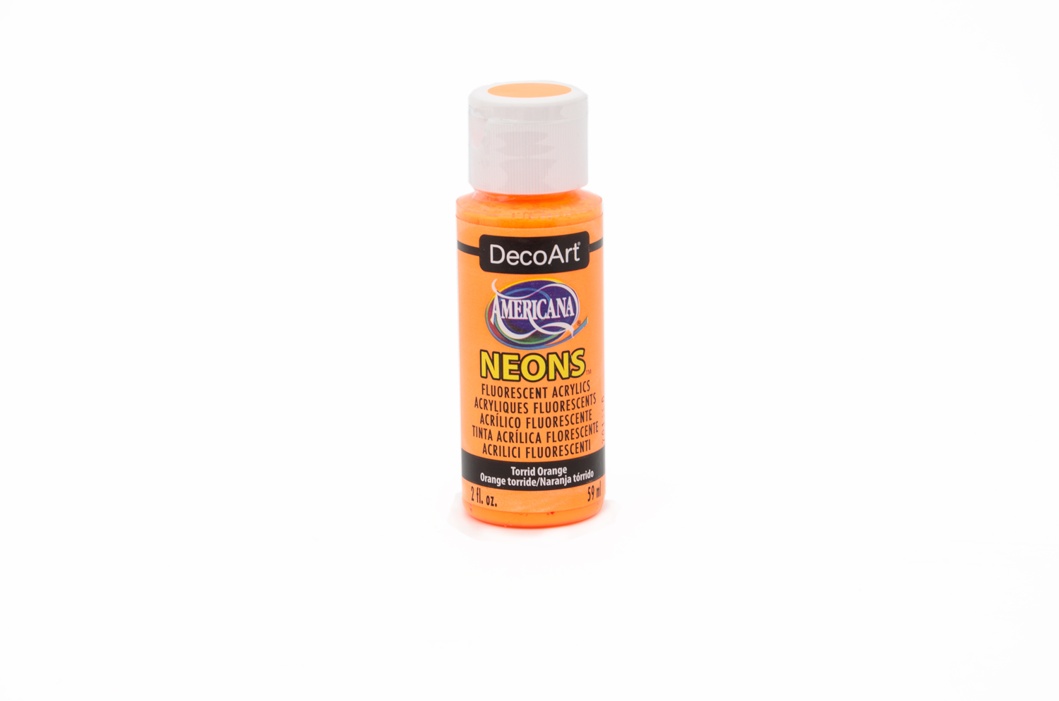 ACRYLIC PAINT 59ML NEON DHS2 AMARELO BROWN