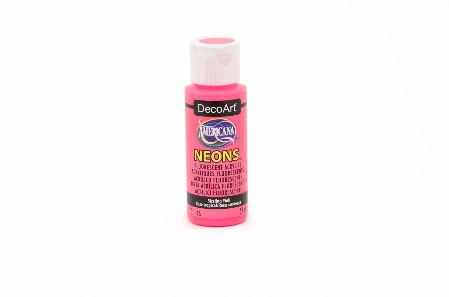 ACRYLIC PAINT 59ML NEON DHS3 PINK