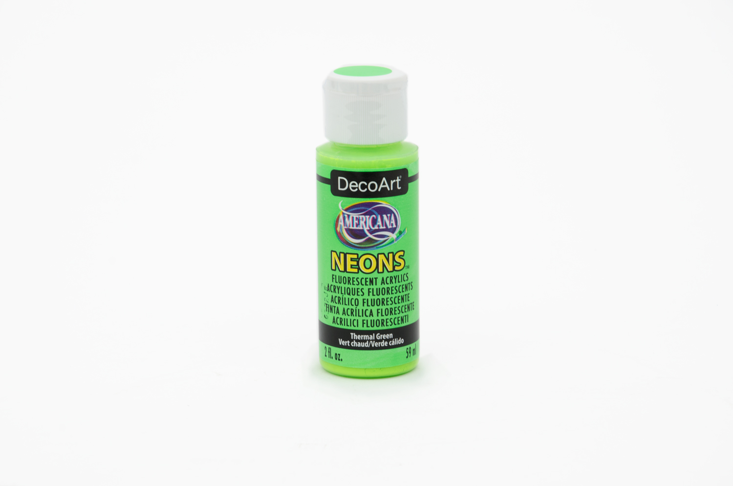 ACRYLIC PAINT 59ML NEON DHS5 GREEN