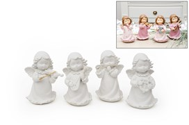 SET 4 ANGELS 10CM