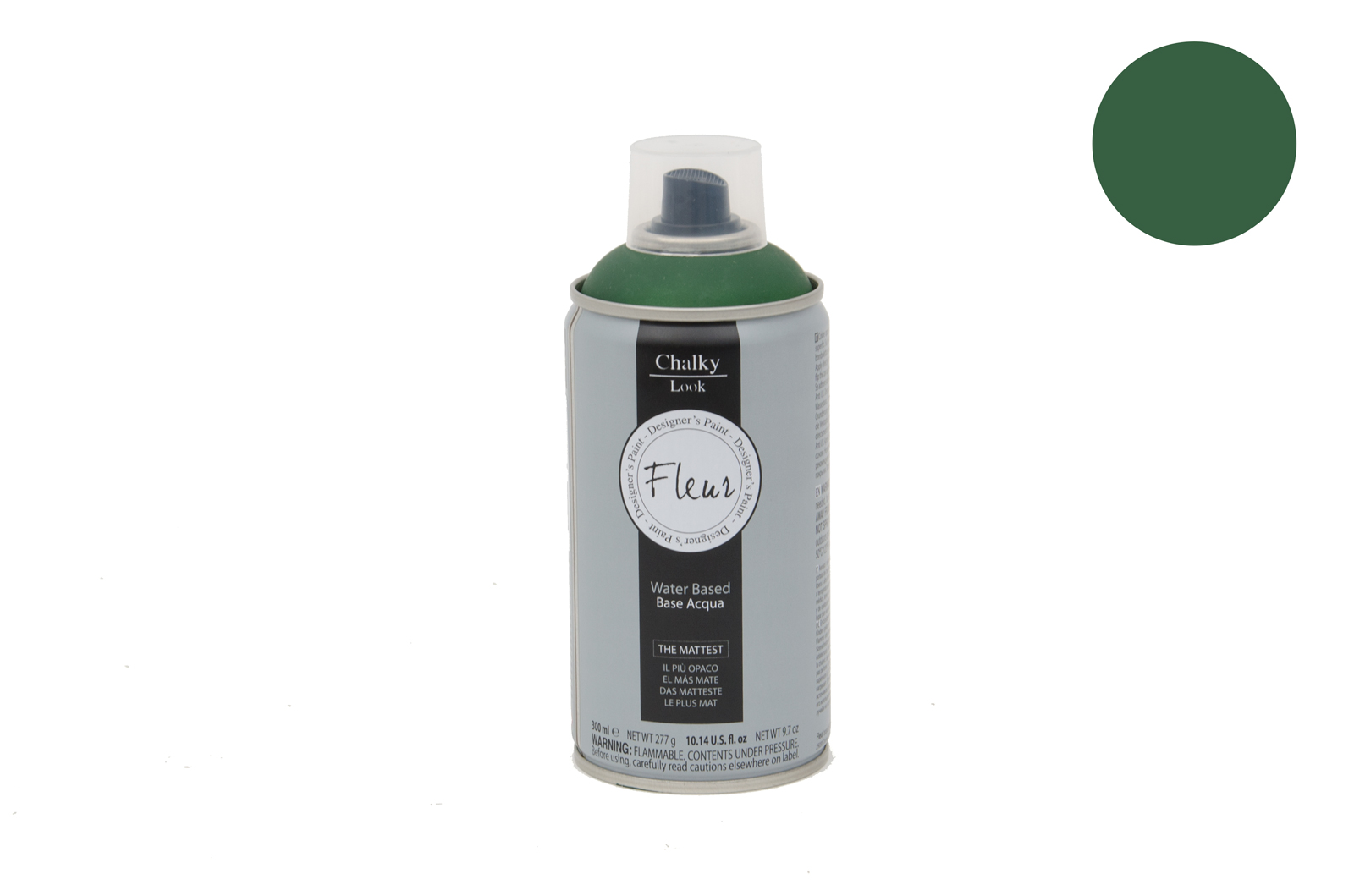 FLEUR CHALKY SPRAY 300ML  F54 THE GREEN QUEEN