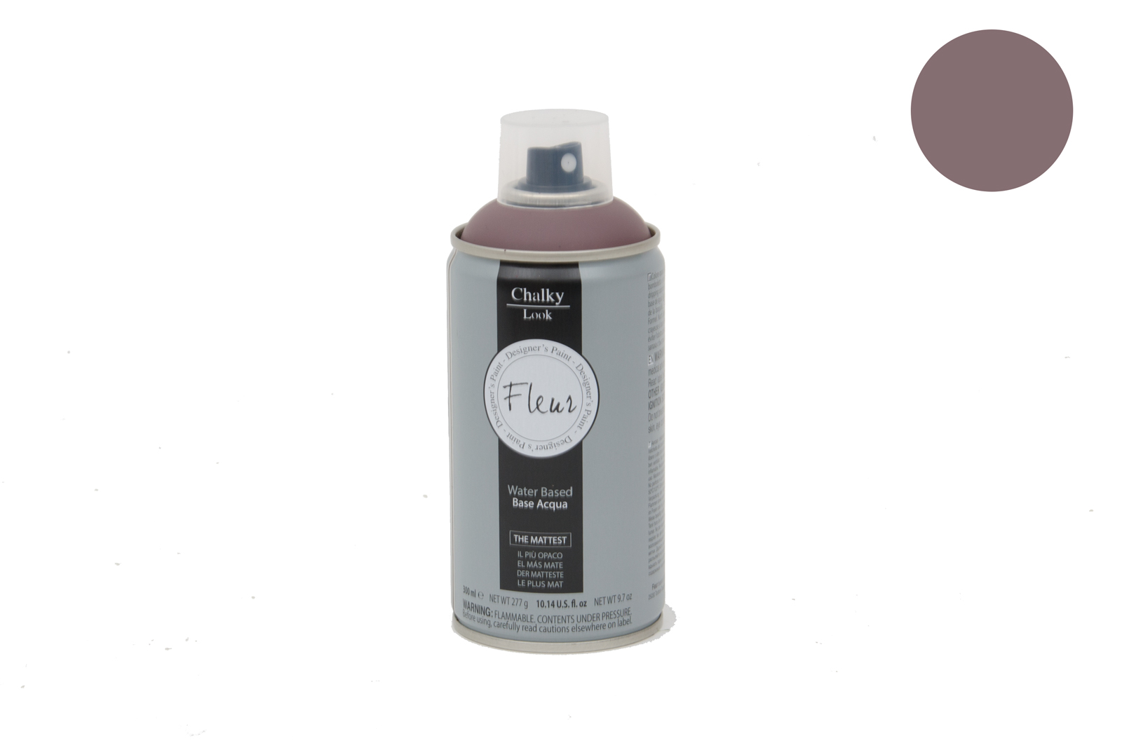 FLEUR CHALKY SPRAY 300ML  F15 CHOCOLATE BLUSH