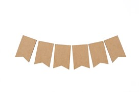 SET 12 FLAGS 12X7.9X0.3CM MDF
