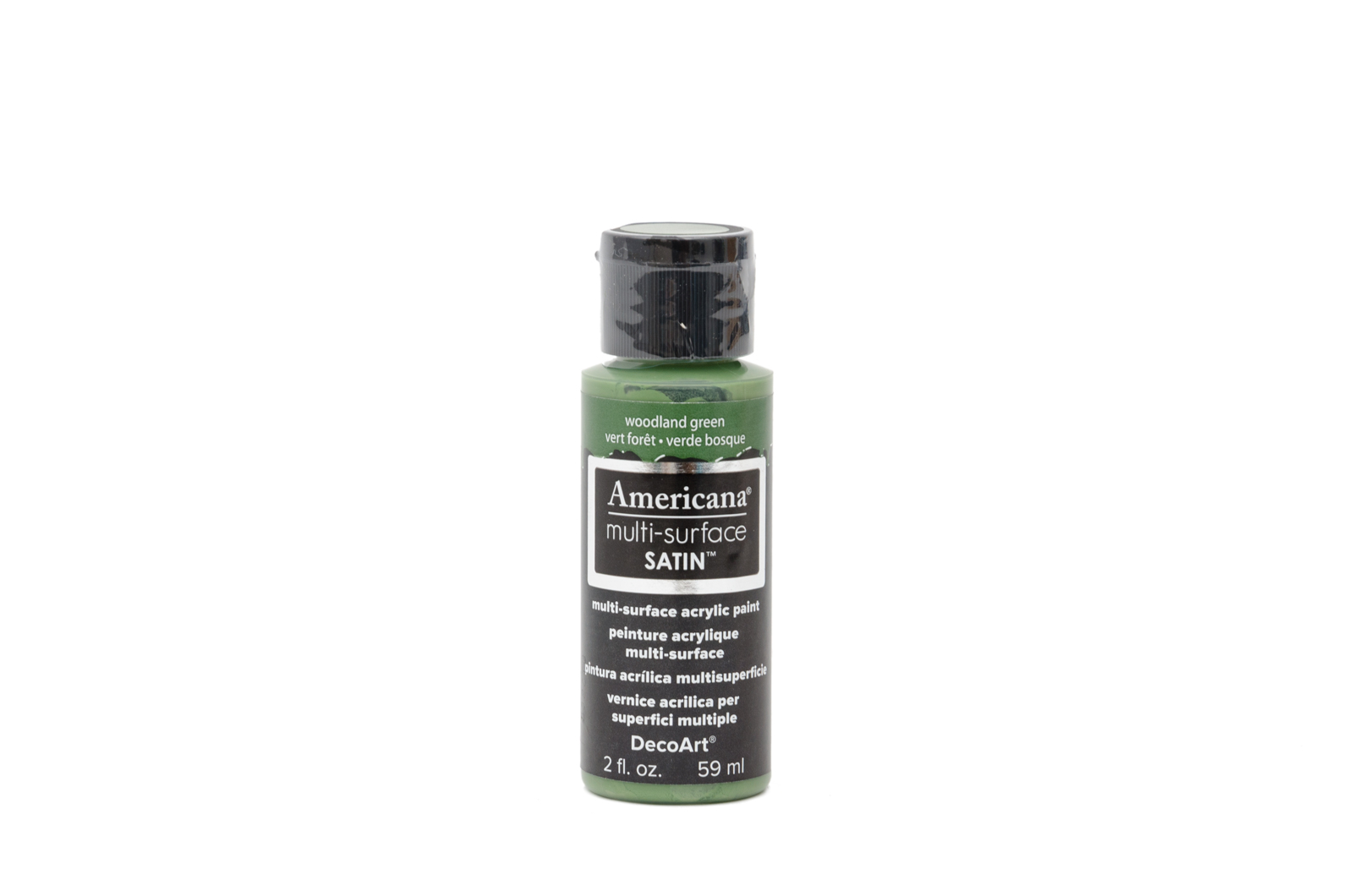 TINTA 59ML DA565 WOODLAND GREEN MULTI-SURFACE AMERICANA