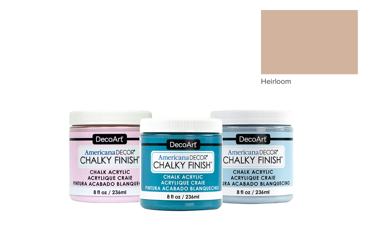TINTA 236ML HEIRLOOM ADC24 CHALKY FINISH AMERICAN DECOR