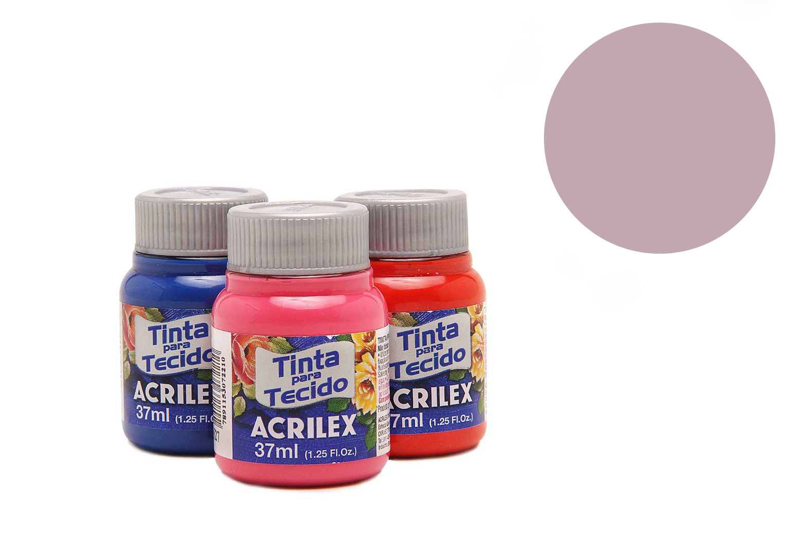 FABRIC PAINT 37ML BABY PINK 04140813 ACRILEX