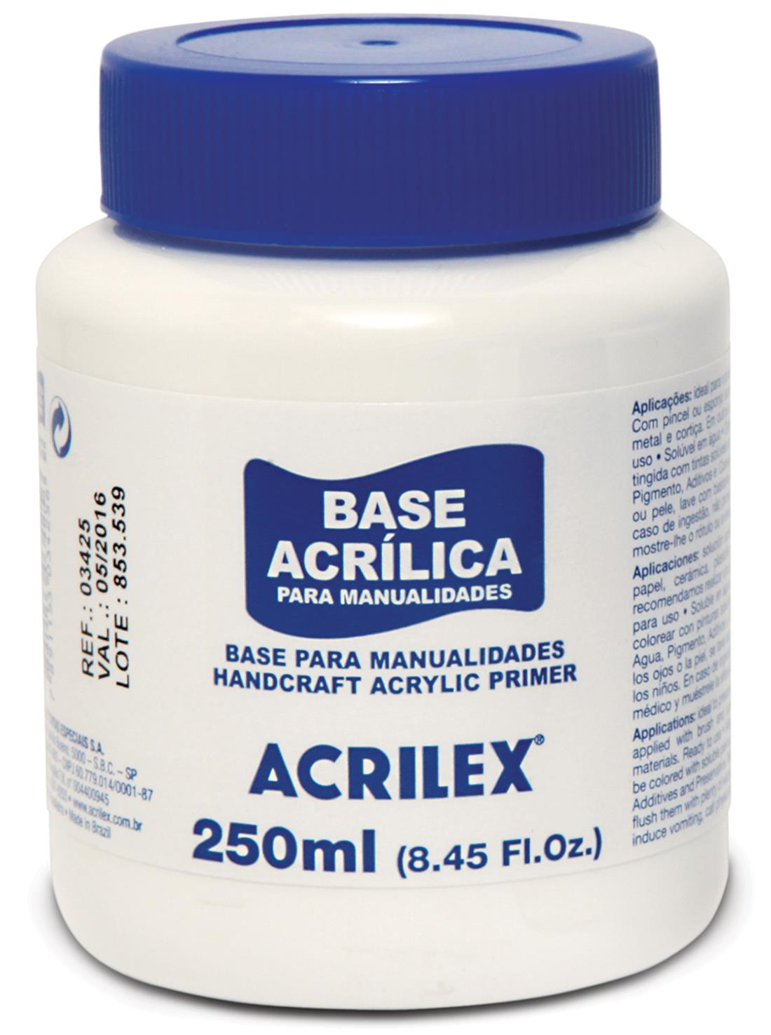 CRAFTS BASE 250ML ACRILEX 03425