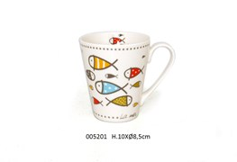 MUG D.8.5 X 10CM 325ML INAYA COLOR
