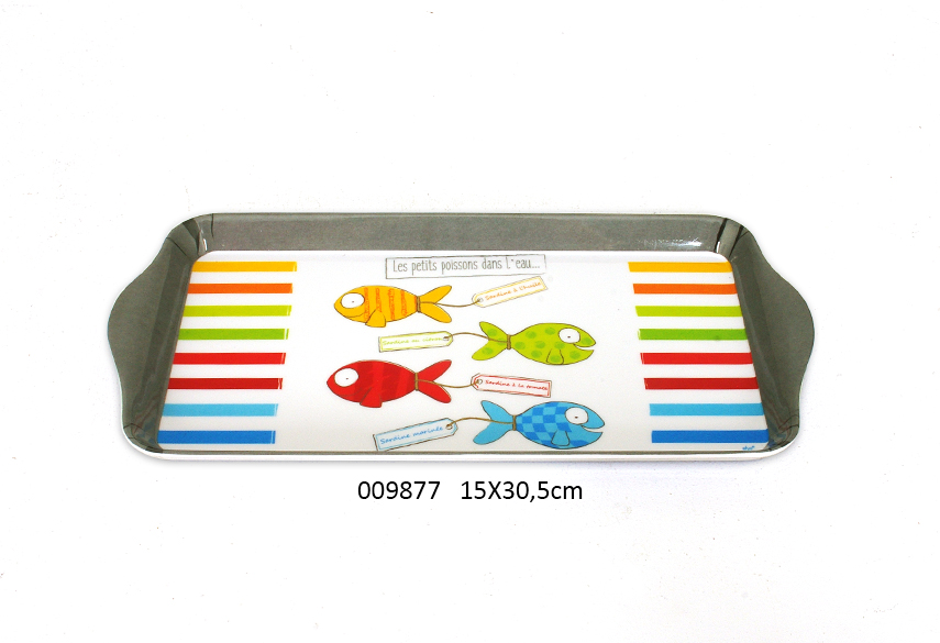 MEAL TRAY 15X30.5CM AQUARIUS
