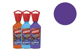 FABRIC PAINT 35ML ACRIPUFF COBALT VIOLET 04812540 ACRILEX