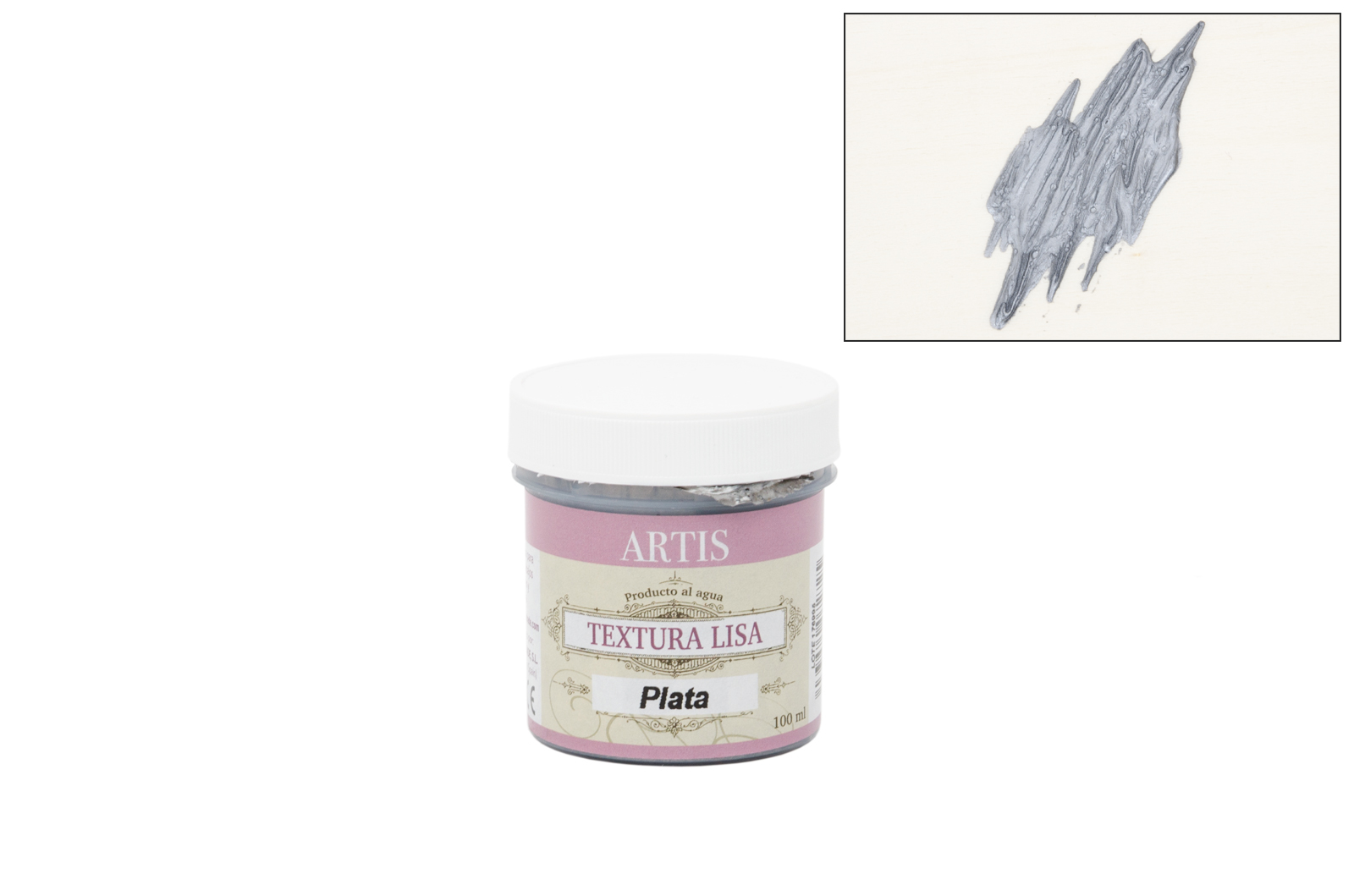 TEXTURA LISA PRATA 100ML 0807047