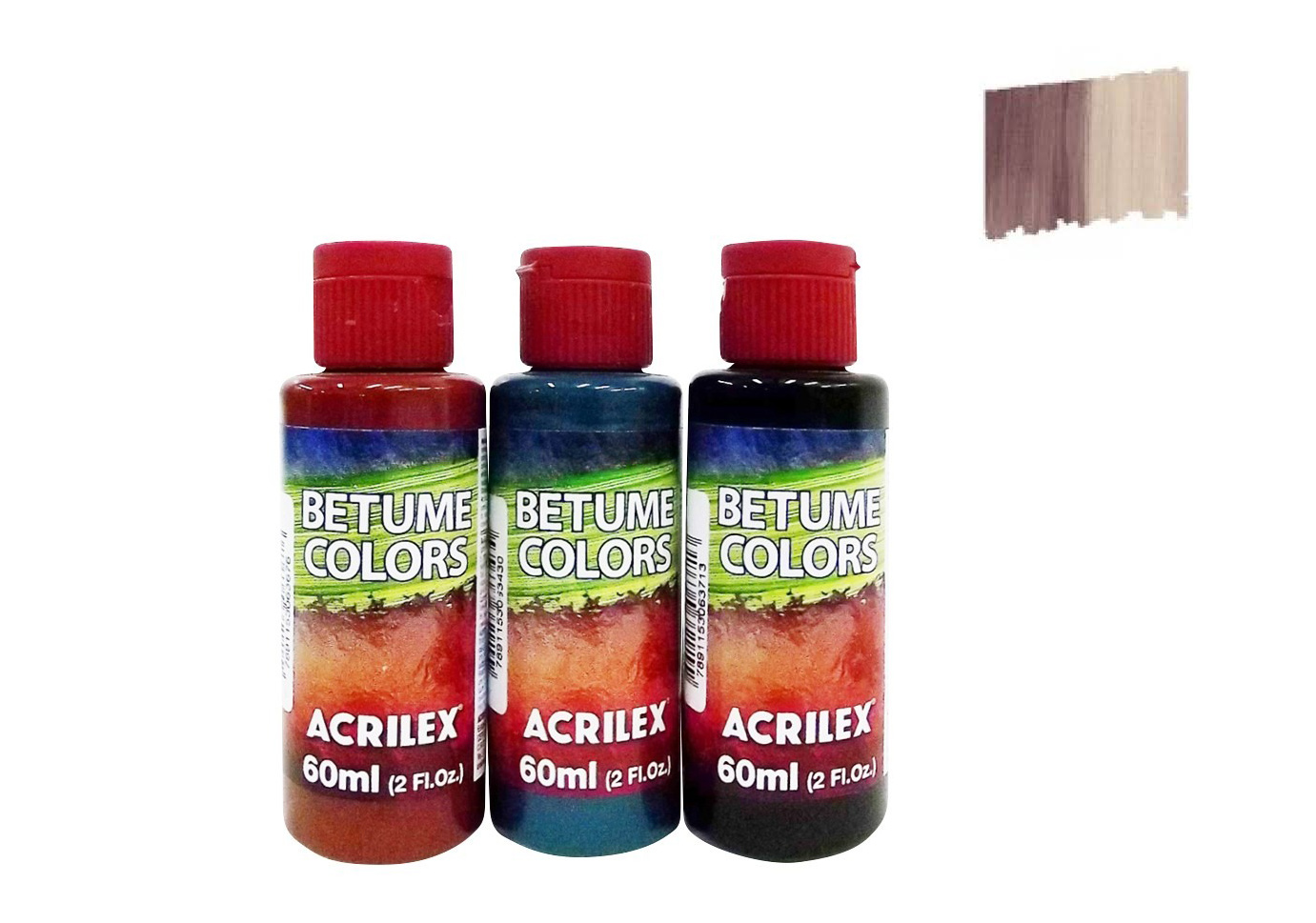 BITUMEN COLORS 60ML BLACK GRAPE 21660957 ACRILEX