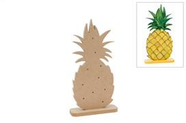 ANANAS C/LED 17.1X36.2X1.2CM MDF C/BASE