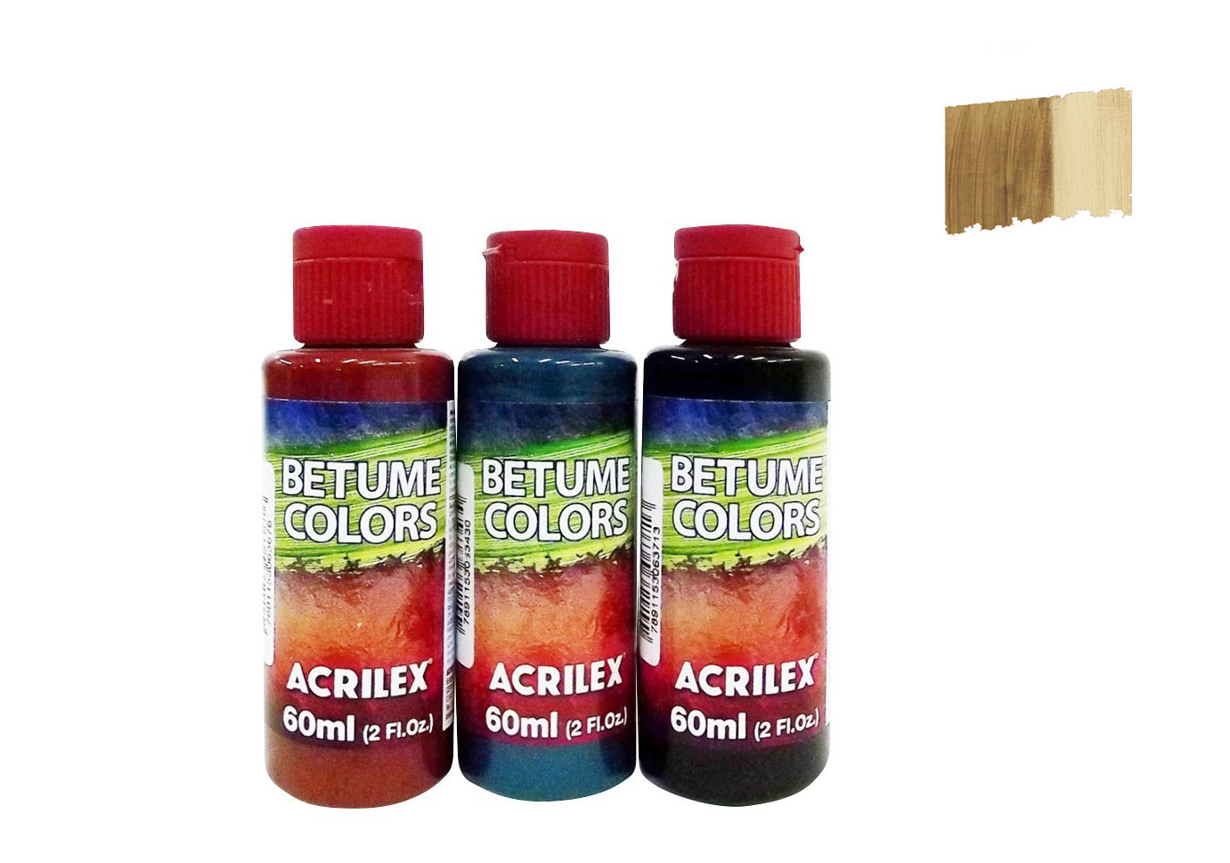 BETUME COLORS 60ML MAHOGANY 21660958 ACRILEX