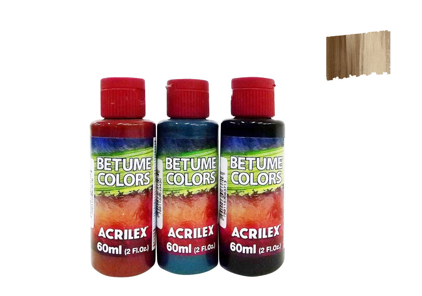 BITUMEN COLORS 60ML COFFEE BROWN 21660953 ACRILEX