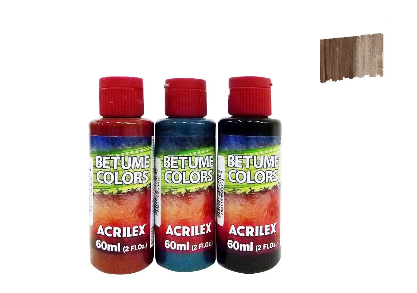 BETUME COLORS 60ML TABACO 21660954 ACRILEX