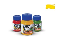 STAINED GLASS PAINT VITRO 150º 37ML GOLD YELLOW 01140505 ACR