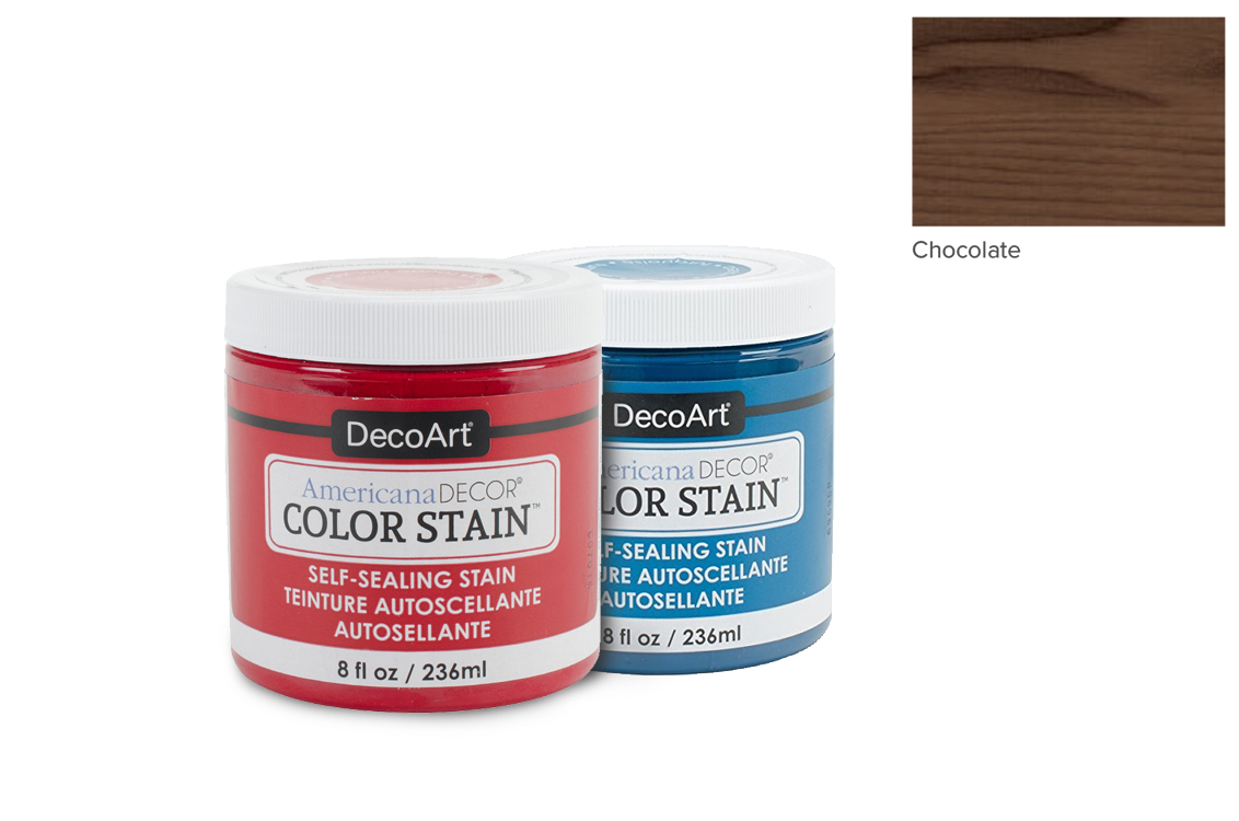 PAINT 236ML COLOR STAIN ADCS19 CHOCOLATE AMERICANA