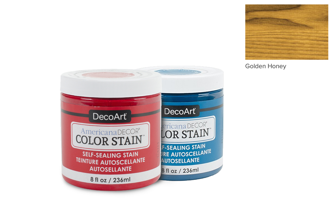PAINT 236ML COLOR STAIN ADCS10 GOLDEN HONEY AMERICANA