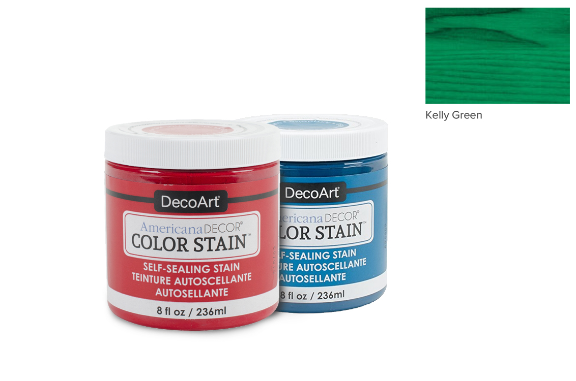 PAINT 236ML COLOR STAIN ADCS11 KELLY GREEN AMERICANA
