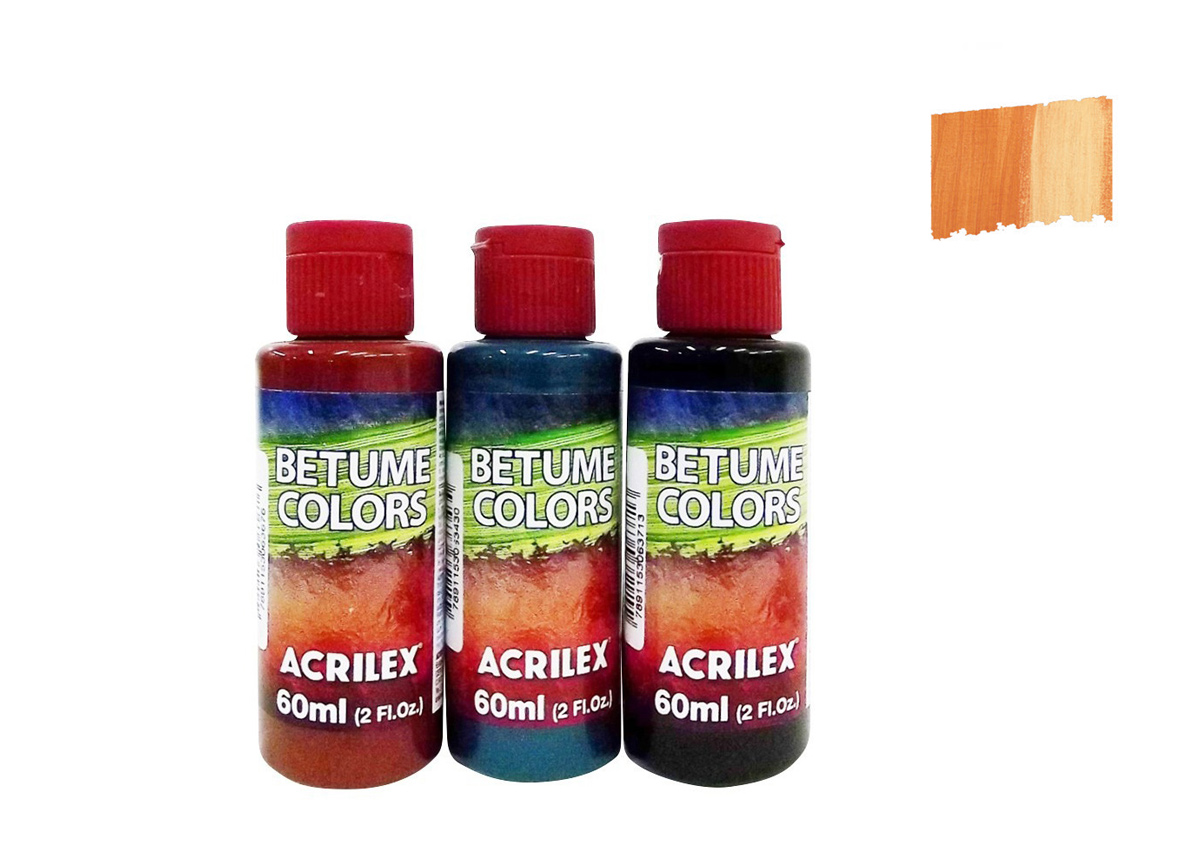 BETUME COLORS 60ML AMBAR 21660949 ACRILEX