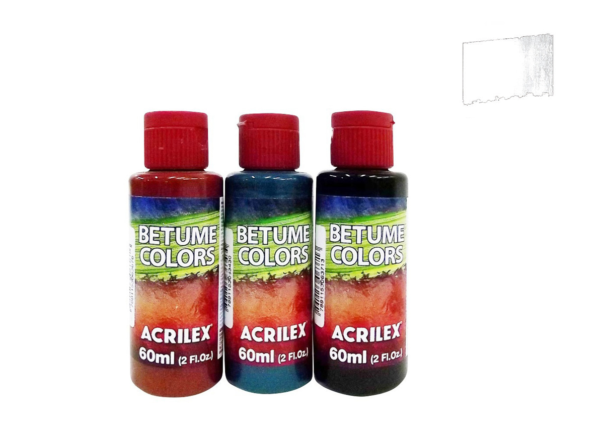 BETUME COLORS 60ML IRIDESCENT BASE 21660592 ACRILEX
