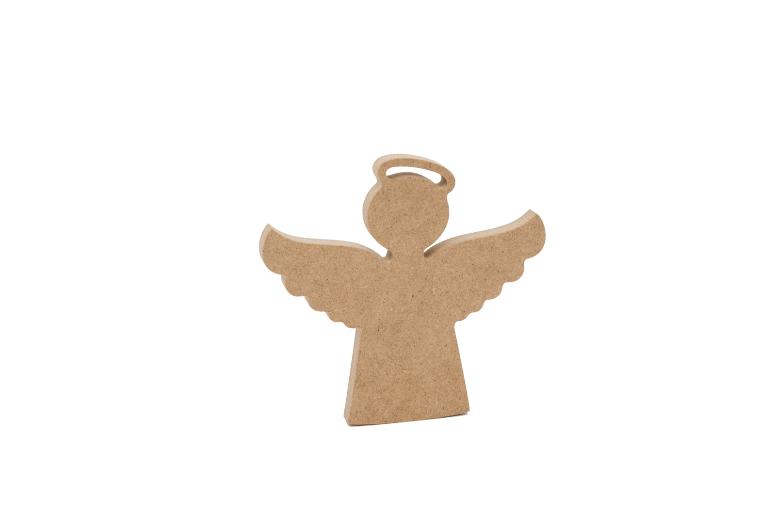 SET 2 ANGELS 15.8X14.9X1.2CM MDF