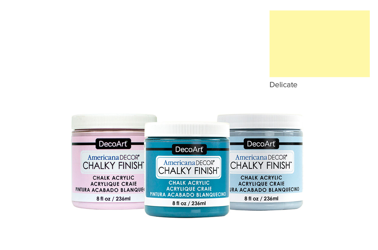 TINTA 236ML DELICATE ADC11 CHALKY FINISH AMERICAN DECOR