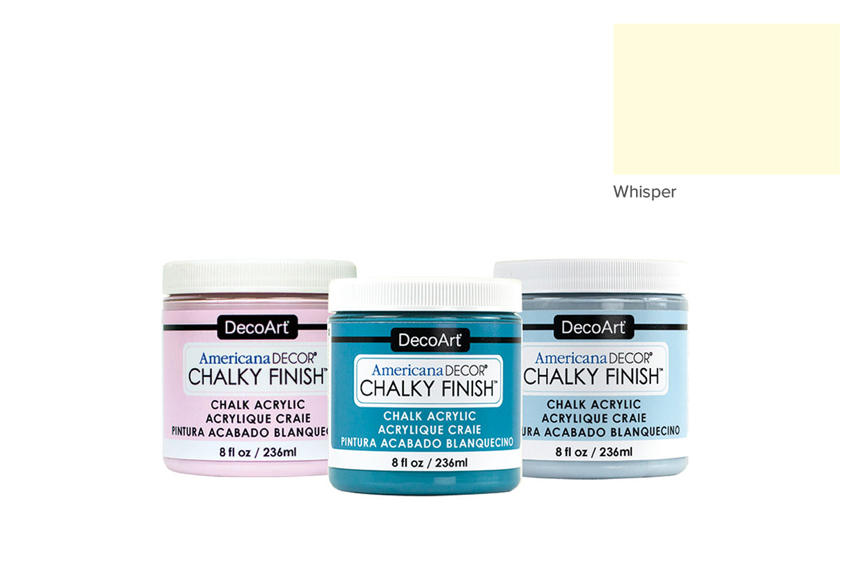TINTA 236ML WHISPER ADC03 CHALKY FINISH AMERICAN DECOR