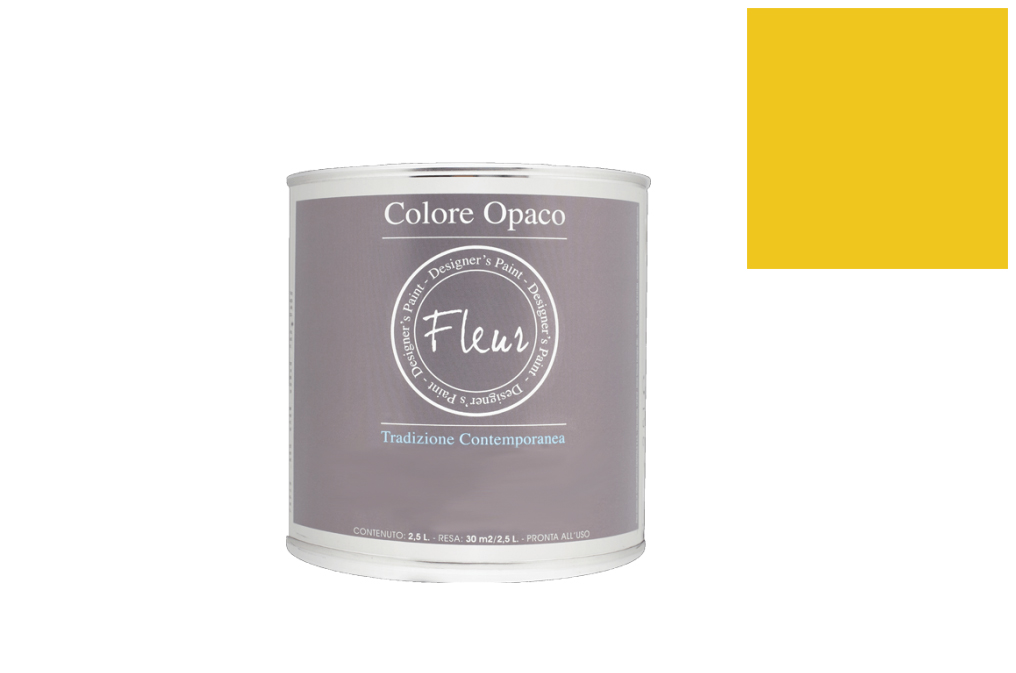 TINTA FLEUR 2.5L F43 INDIA GOLD CHALKY LOOK