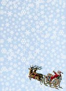 PAPEL ARROZ 35X50CM SHABBY CHRISTMAS 2390-9457