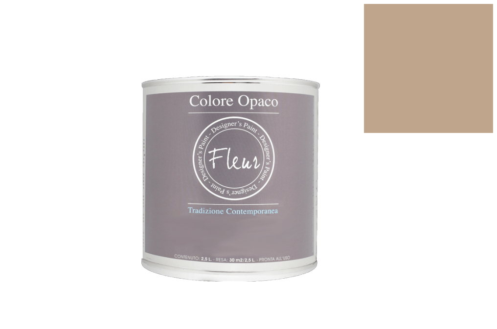 TINTA FLEUR 2.5L F12 JAMES TAUPE CHALKY LOOK