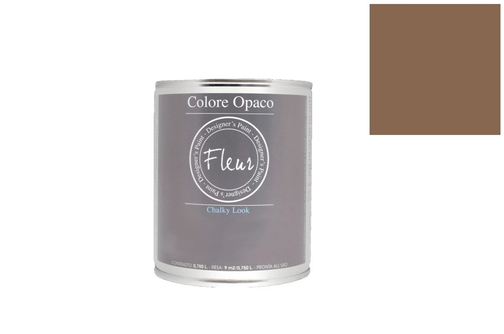 FLEUR PAINT 750ML CHALK LOOK F17 CHOCOLATE WISH