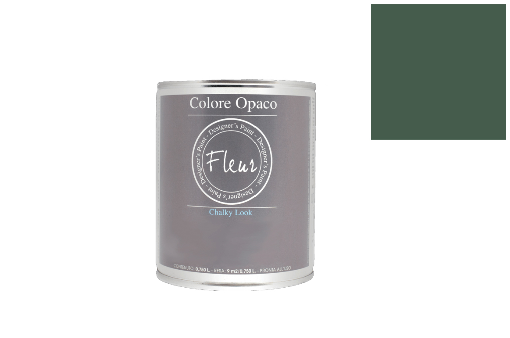 FLEUR PAINT 750ML CHALK LOOK F54 THE GREEN QUEEN