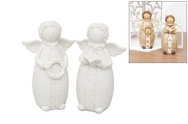 SET 2 ANGELS 14CM
