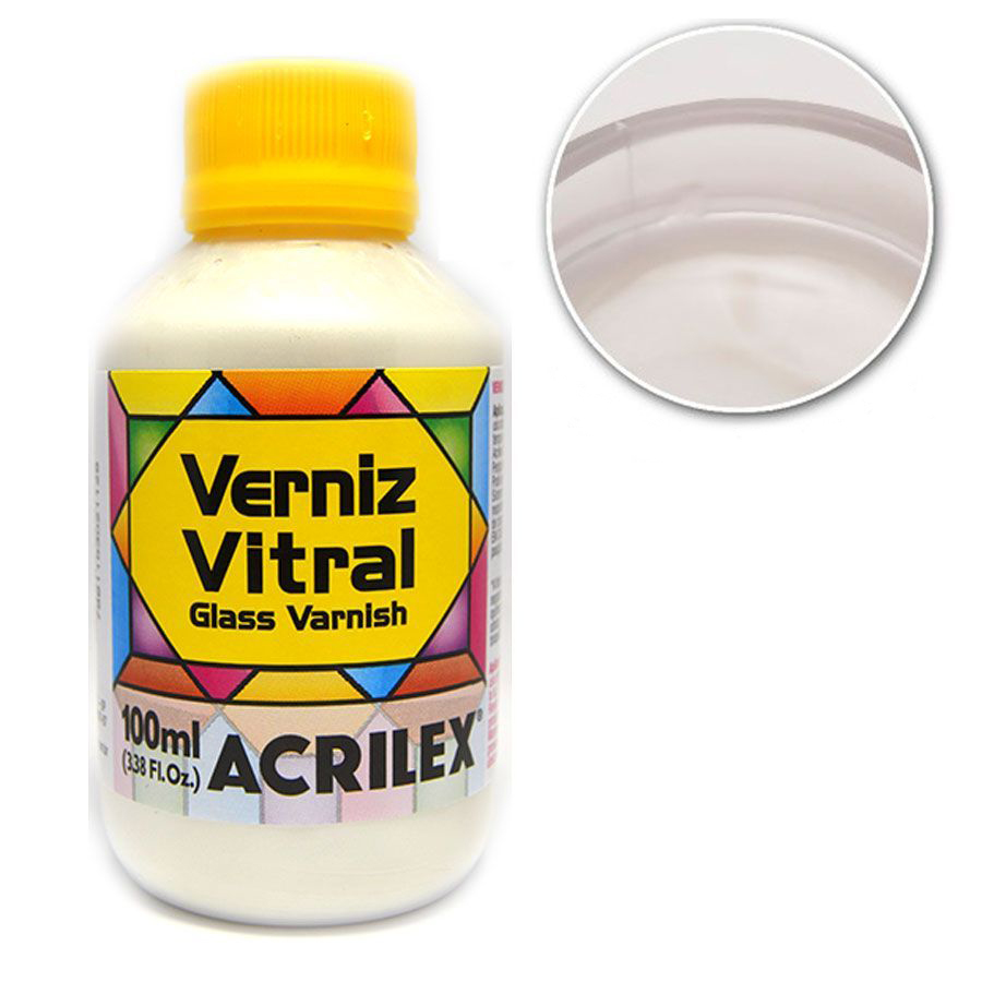 VERNIZ VITRAL 100ML BASE MADREPERLA 08110592 ACRILEX