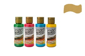 METAL COLORS 60ML OURO 03660532 ACRILEX